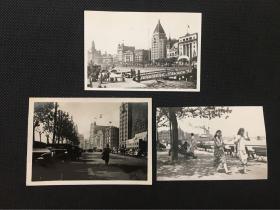 民国30年代上海风光建筑照片_上海外滩景象共3张