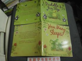 外文书   两本合售  彩图