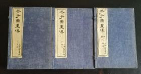 光绪《芥子园画传》初、二、三集12册全