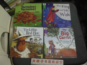 外文书   4本合售  彩图
