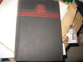 1938年版 THE ANCIENT WORLD   1-2两本合售  私藏88品