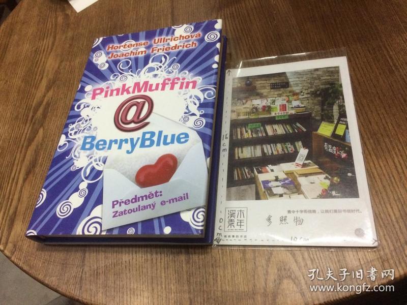 捷克文原版 PinkMuffin @ Berryblue 【存于溪木素年书店】