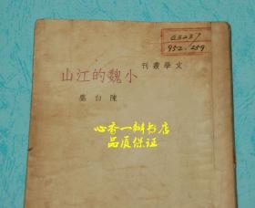 小魏的江山(民国旧书)