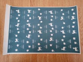 日本木版彩印《千代纸》一张【2】