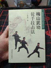 正版原版书---2007年一版一印《 梅山武功徒手技击法 》陈永辉----真人演练-图片多  --书95品如图