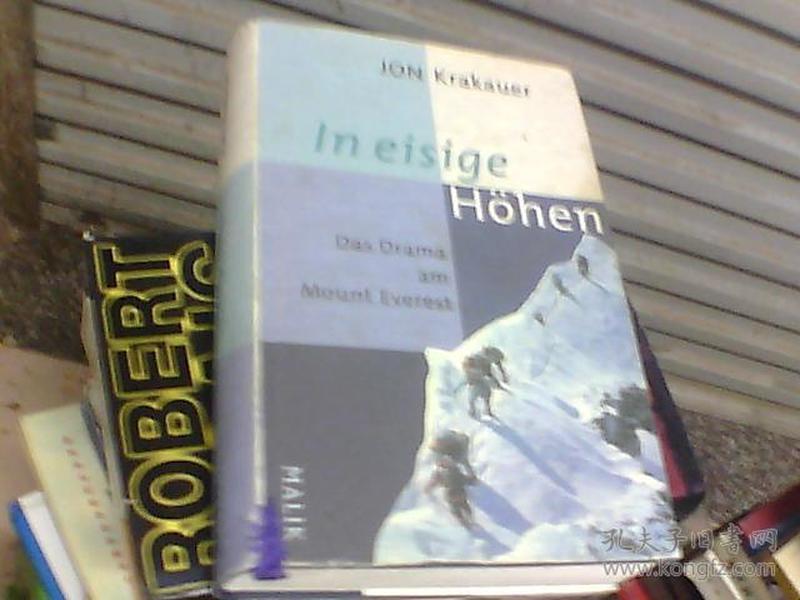 In eisige Höhen:Das Drama am Mount Everest (精装 德语)
