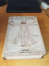Leonardo Da Vinci The Graphic Work达芬奇素描手稿全集 (原版英文)