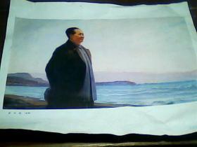 油画-----东方红(6开厚板纸)一版一次