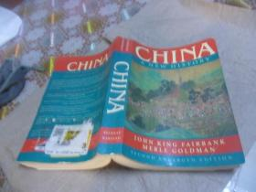 China, A New History 中国新史 Second Enlarged Edition(第二版) 英文原版