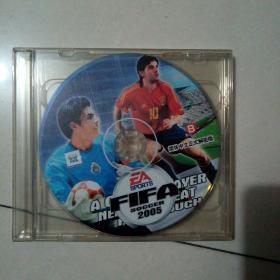 FIFA SOCCER 国际足联足球 2005 游戏光盘(2张光盘)