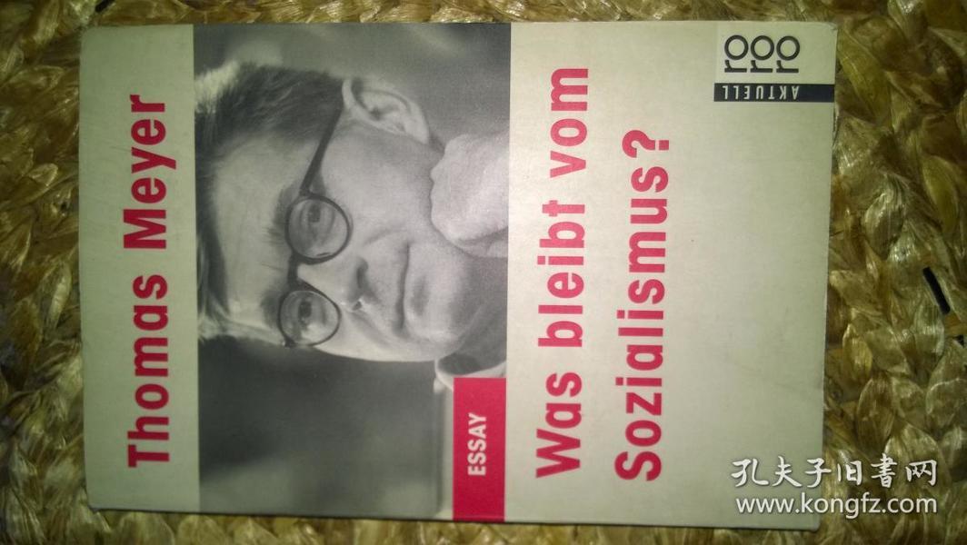 Was bleibt vom Sozialismus?(作者为多特蒙特大学著名教授、知名学者 社会理论家)