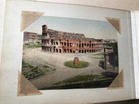 (补图勿拍)50年代苏联著名建筑风景画片一册(特少见)内含60张画片