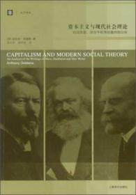 大学译丛 资本主义与现代社会理论