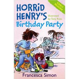 Early Reader Horrid Henrys Birthday Party