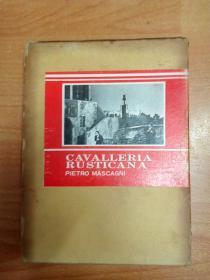 韩文原版书音乐图书:Cavalleria Rusticana 乡村骑士 (全一幕)(16开精装带盒套)世界歌剧全集6