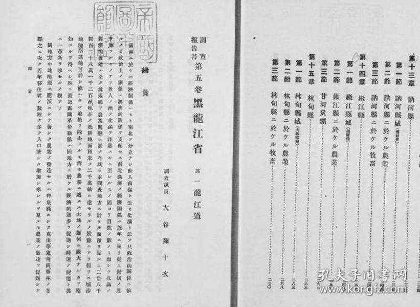讷河县事情1919年版(日文)(复印)