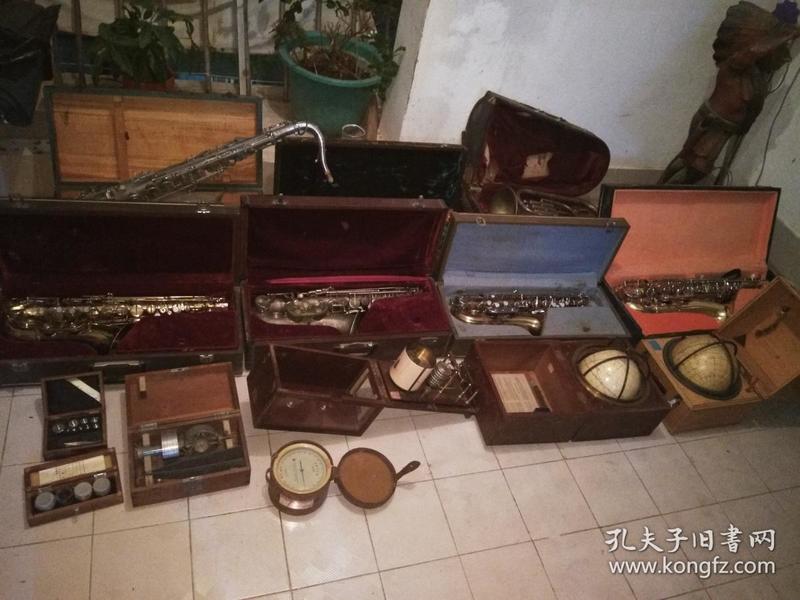 厦门[集美]学校老乐器及仪器一批合售