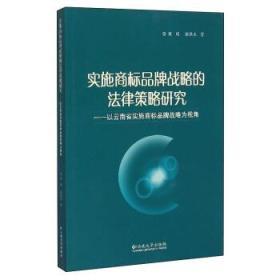 实施商标品牌战略的法律策略研究:以云南省实施商标品牌战略为视角