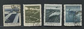 航空邮票第二组盖销邮票