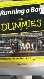【旧书二手书】开酒吧傻瓜书 Running a Bar For Dummies9780470049198