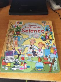 Usborne LOOK inside Science(英文原版.幼科普翻翻书)