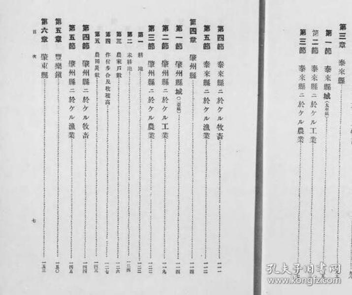 泰来县事情 1919年版(日文)(复印)