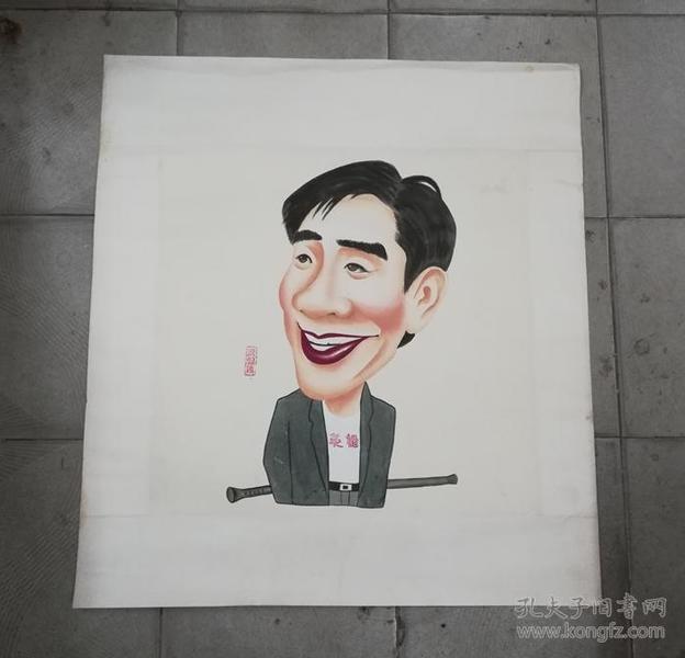 梁朝伟*生动趣味的手绘人物肖像漫画