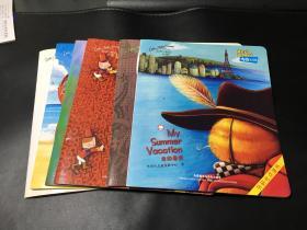 布奇乐乐园英语小剧场:4-5岁(真有趣.妈妈的帽子.植物是怎样生长的.我的暑假.乱糟糟.父亲节)6册合售