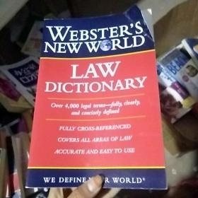Websters New World Law Dictionary