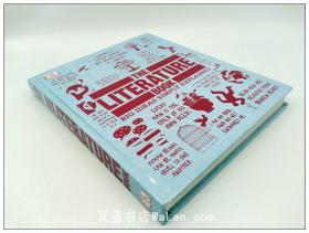 DK出版的外国文学概论 The Literature Book (Big Ideas Simply Explained) 英文原版