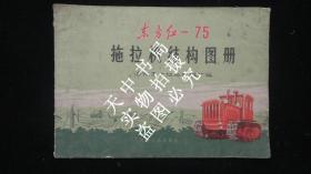 1978年版:东方红-75拖拉机结构图册【彩图印刷】