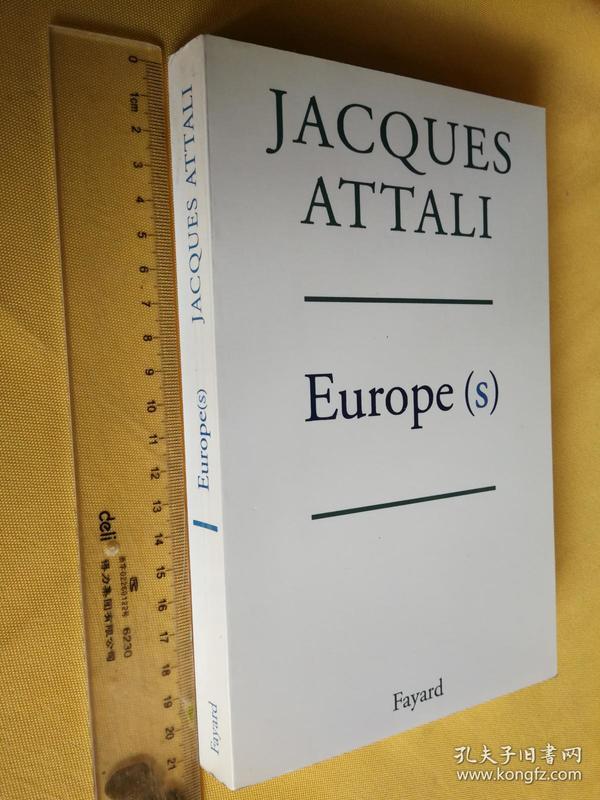 法文原版 雅克·阿塔利 《欧洲》 Europe(s) Jacques Attali