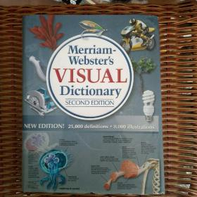 Merriam-Websters Visual Dictionary (2nd edition)(韦氏可视化词典)全铜板彩图印刷