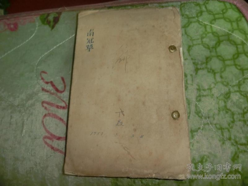 南冠草  丁焱 手稿 C1