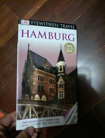 英文原版 DK Eyewitness Travel Guide: Hamburg,