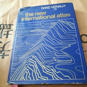 RAND MCNALLY THE NEW INTERNATIONAL ATLAS 地图