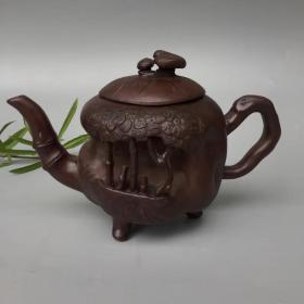 精品紫砂壶,细节如图 有款识品如图一眼货