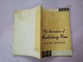 建议英语注释读物:哈克贝利·费恩历险记【实物拍图 少量笔记】