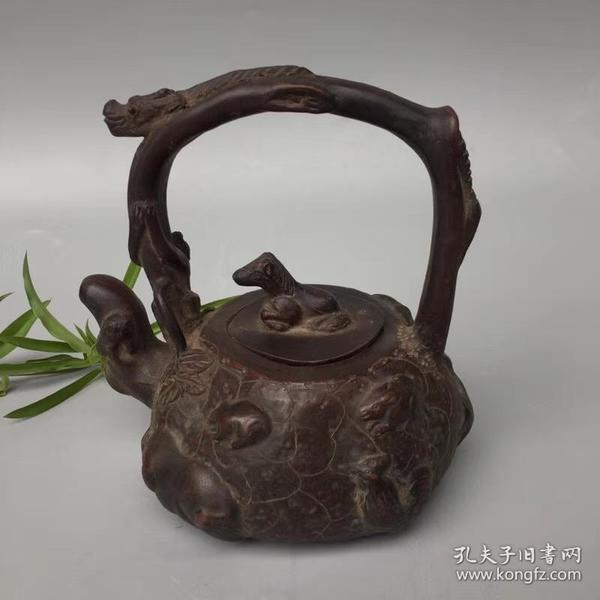 紫砂壶,细节如图 有款识品如图一眼货