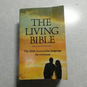 英文原版THE LIVING BIBLE The Bible IN EVERYDAY LANGUAGE FOR EVERYONE
