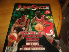 JUMP SHOOT 篮球刊物 73/99--夹大海报