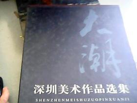 大潮—深圳美术作品选集 【精装 带函套】