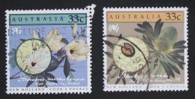 澳大利亚邮票-----植物种子(信销票)