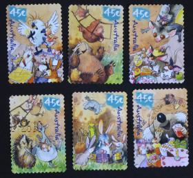 澳大利亚邮票-----童话故事(信销票)