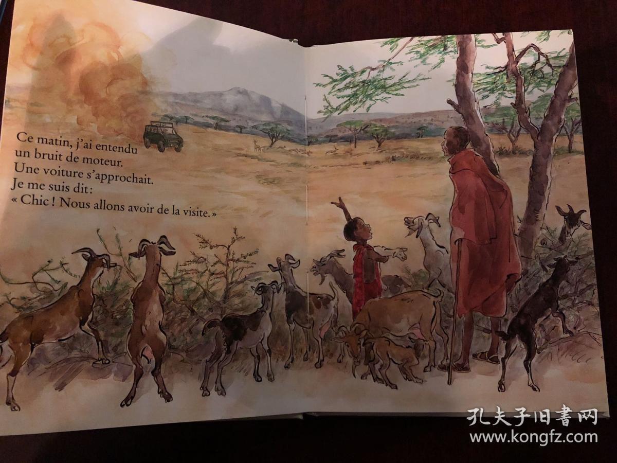��`'�.+ya�il_ya-t-il des ours en afrique?法文原版 儿童读物