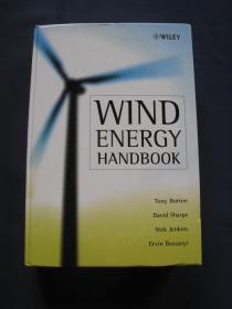 Wind Energy Handbook  (风能技术)  精装本  2002年英国印刷   英语原版书
