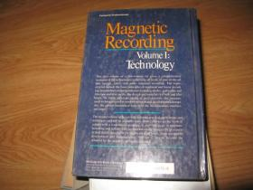 Magnetic Recording Volume1:Technology(精装16开)