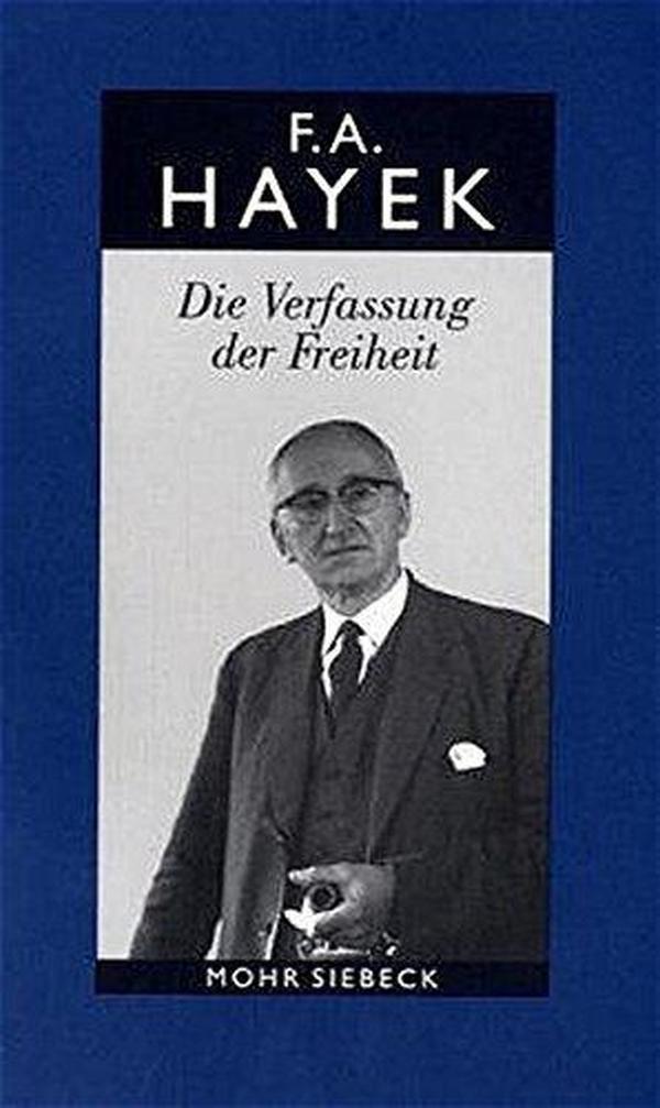 德文原版 德语 Die Verfassung der Freiheit 自由秩序原理 哈耶克