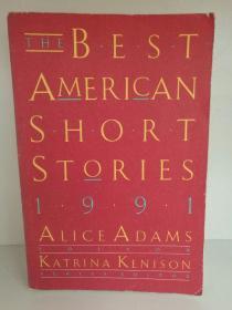 The Best American Short Stories 1991 (The Best American Series ) 英文原版书