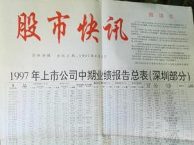 包郵1997年9月1日期刊《股市快訊》